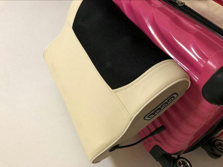 盛世阳光颈椎按摩器颈肩颈部肩部腰部腿部按摩垫多功能全身家用按摩靠垫按摩枕仪 K-516B带记忆枕 晒单图