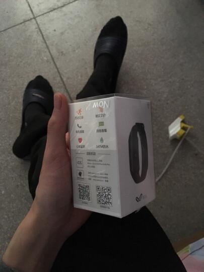 Weloop唯乐 Now2心率智能运动手环 30米防水游泳 触摸大屏信息显示来电提醒微信内容查看睡眠监测炫彩版红色 晒单图