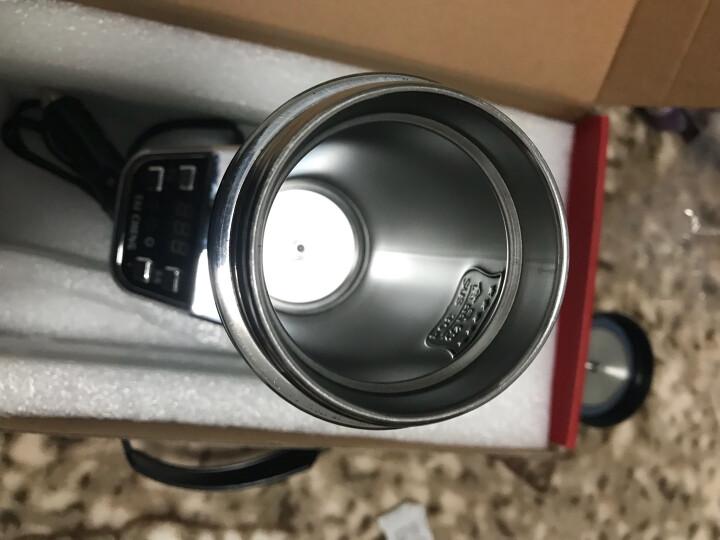 泰澄 C05 车载电热杯 汽车加热杯 保温杯 电热水杯 车用烧水壶 古典红 晒单图