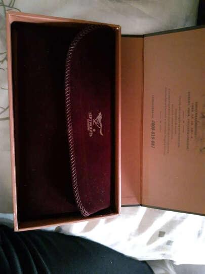 七匹狼(SEPTWOLVES)男士钱包/皮带套装 头层牛皮多功能长款钱包+腰带套装礼盒 L9443 晒单图