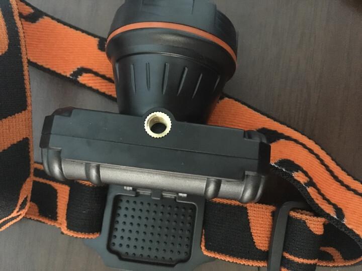 魔铁/MOTIE led户外头灯 迷你强光远射充电 狩猎夜钓鱼灯夹帽灯 MTD-111 晒单图