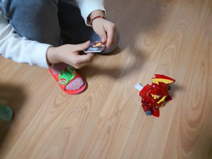 三宝(Sanbao) 炫击勇者之炫击战卡机儿童对战玩具枪全套装 雷霆战击王 晒单图