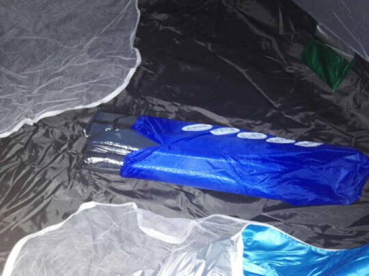 全自动户外帐篷双人防雨野外露营帐篷免搭建3-4人帐篷套装 套餐十一(4人帐篷+防潮垫+充气枕+吊床+充气垫) 晒单图