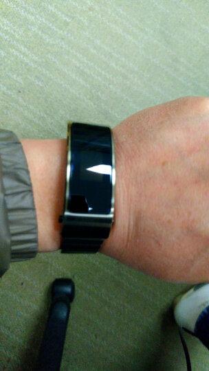华为(HUAWEI)华为手环B3   (蓝牙耳机与智能手环结合+金属机身+触控屏幕+金属腕带) 时尚版  钛金灰 晒单图