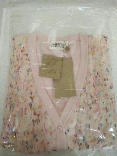 PORTS宝姿女装  春装粉色小碎花针织开衫 AMOUR S 晒单图