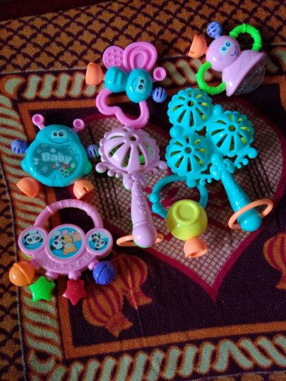 0-1岁婴幼儿摇铃3-6-12个月宝宝早教益智儿童手摇铃男女婴儿玩具 9件套+音乐早教电话机+拨浪鼓+球 晒单图
