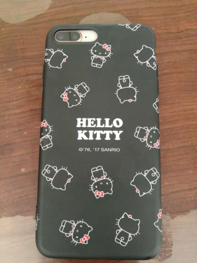 Hello Kitty 苹果7/8手机壳 iPhone7/8卡通保护套 全包硅胶防摔软壳 4.7英寸 棉花糖凯蒂猫*红色 晒单图
