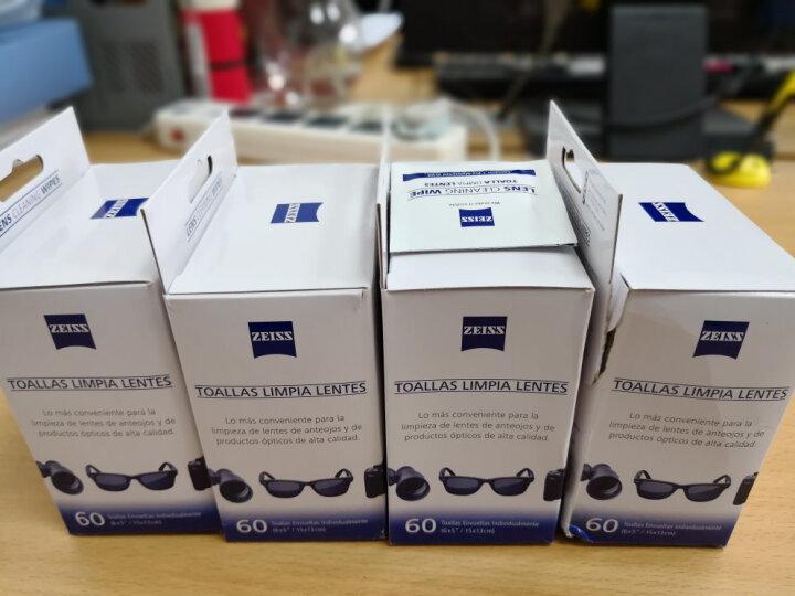 蔡司(ZEISS) 相机镜头电脑光学清洁拭镜纸 镜头纸 眼镜纸 擦镜纸 湿纸巾 100片装(散装) 晒单图