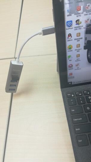飞利浦(PHILIPS)USB分线器3.0 Type-C转USB多接口转换器 苹果华为小米电脑一拖四4口HUB集线器 SWR1604B/93 晒单图