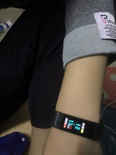 博之轮(BOZLUN) 智能手环心率连续监测男女防水运动手表来电提醒计步腕表华为小米通用 B30蓝色升级版(彩屏动态显示) 晒单图