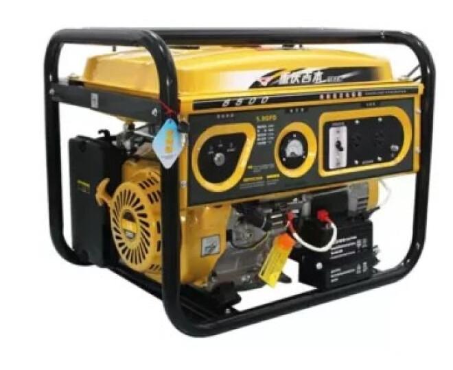 吉本(JYBT) 汽油发电机1/2/3KW/5KW6.5/7.5千瓦家用小型单/三相迷你 1KW预付款(付清尾款发货) 晒单图