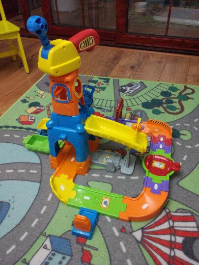 伟易达(Vtech) 神奇轨道车火车站 儿童男孩玩具轨道车警车托马斯小火车赛车轨道 拖车 晒单图