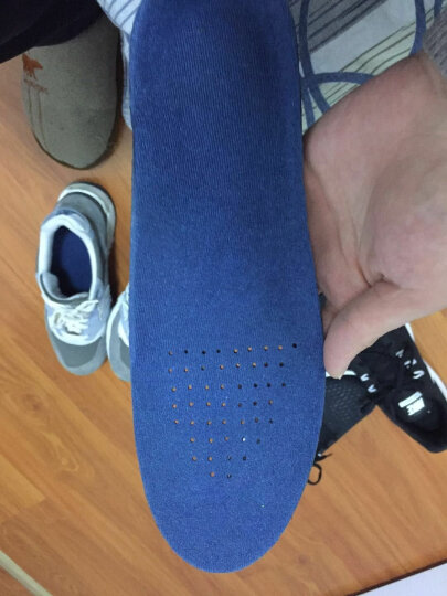 玉泉 跑步运动登山军训鞋垫男士女鞋垫减震扁平足矫正足弓垫鞋垫透气吸汗内增高鞋垫 44-47(买1送1) 晒单图