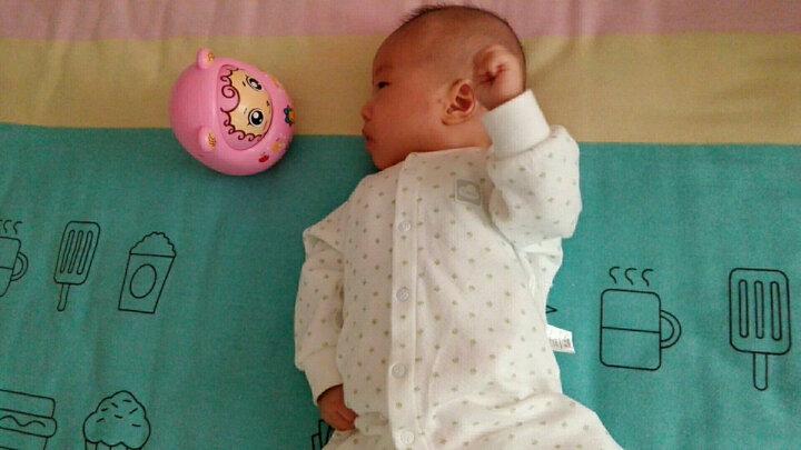 美致 婴儿玩具 宝宝早教益智不倒翁玩具0-1-3岁 小绵羊加费雪球 晒单图