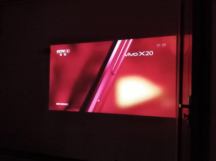 微鲸(WHALEY)K1 投影仪 投影机家用 便携(高清 自动对焦 人工智能语音 手机投影 内置电池)太空灰 晒单图