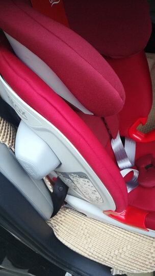 宝得适/百代适Britax汽车用儿童安全座椅isofix 9个月-12岁宝宝 百变骑士 II 热情红 晒单图
