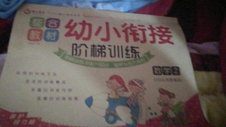 幼小衔接整合教材全套6册阶梯训练 一日一练幼儿园学前班教材拼音幼小衔接语言 3-6岁幼升小测试 晒单图