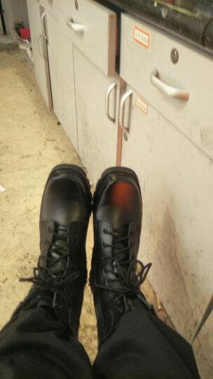 蔻梅秋冬季男特种作战靴鞋户外靴登山靴陆战战术靴沙漠靴szx 冬季棉靴钢头钢底 43 晒单图