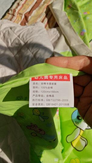 冬梅嫂家纺儿童被子 秋冬款卡通纯棉被套3斤棉花被芯婴儿被幼儿园午睡被 120*150cm 天才米奇 被套+棉花被芯3斤 晒单图