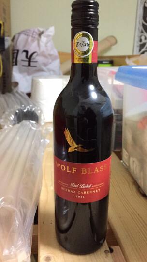 京东海外直采 澳大利亚进口 纷赋(WolfBlass)红牌赛美蓉长相思干白葡萄酒 750ml 晒单图