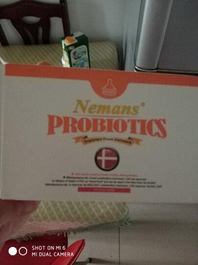 纽曼思(Nemans) 纽曼思(原名:纽曼斯) 丹麦原装进口 益生菌粉末 儿童型 30袋装 晒单图