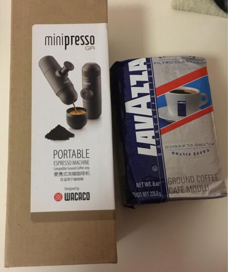 WACACO Minipresso意式便携式咖啡机 迷你手动咖啡机套装家用户外咖啡机 咖啡粉版送Lavazza美式粉 晒单图