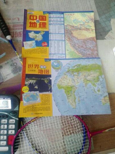 世界地理地图(防水 耐折 撕不烂地图 870mm*600mm) 晒单图