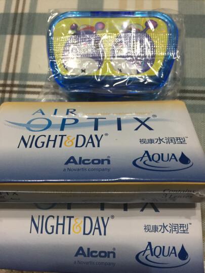 爱尔康视康近视隐形眼镜月抛3片盒装 水润日夜型 硅水凝胶进口 850度 晒单图