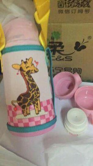 爱宝熊(IBOOLBEAR) 儿童保温杯宝宝保温杯  带吸管三用316不锈钢幼儿园小学生便携水壶 叮当猫304不锈钢 晒单图