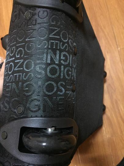 达派dapai旅行包男行李包拉杆包女大容量登机包拉杆袋手提包旅游包袋842 黑色 晒单图