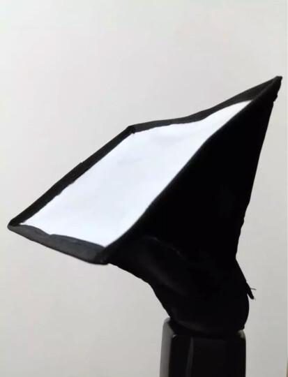 斯丹德(sidande)闪光灯布套柔光罩15*17cm 专业外接热靴机顶柔光箱 便携可折叠单反相机佳能尼康通用 晒单图