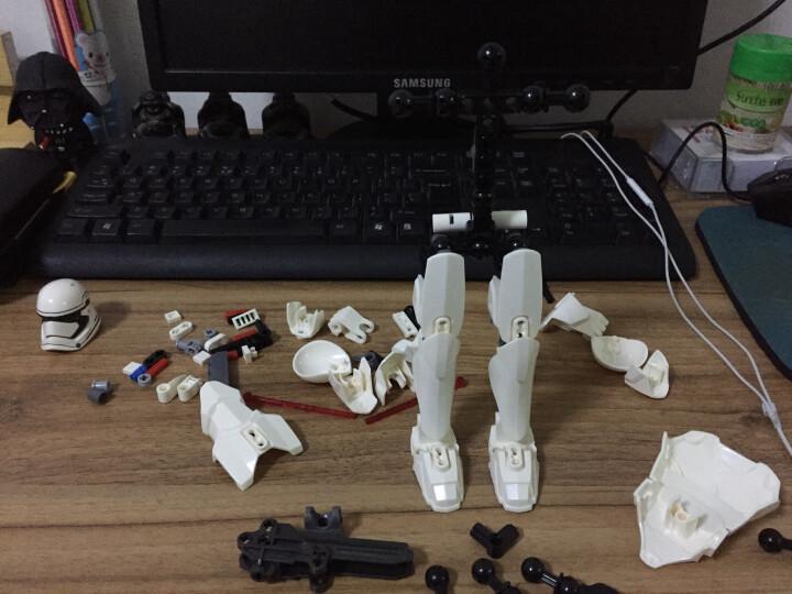 星球大战暴风兵我的世界兼容乐高益智积木玩具 赏金猎人 晒单图