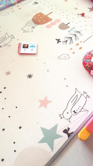 曼龙爬行垫XPE材质加厚2cm爬行毯双面婴幼儿童爬爬垫泡沫垫宝宝环保地垫 长颈鹿量身高+梦幻四季(主流款) 180*200*2cm(双面图案+包边) 晒单图