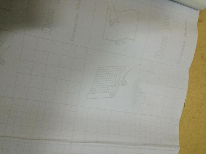 爱花 PVC自粘墙纸客厅卧室背胶壁纸纯色加厚磨砂即时贴家具翻新贴广告割字贴防油刻字贴 5573灰色 亚光面宽45CM*长10米 晒单图