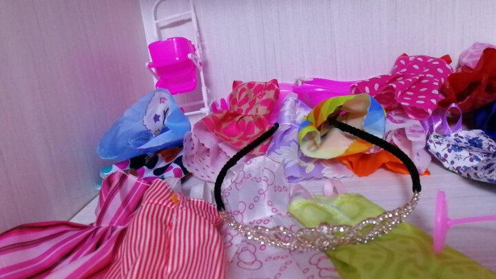 【送豪礼】芭比娃娃套盒情景玩具屋女孩换装芭比娃娃套装礼盒12关节3D真眼美瞳多套衣服洋娃 k3古装娃娃套装 晒单图