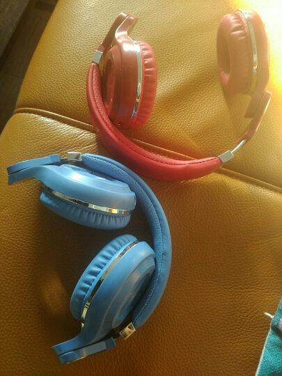 蓝弦(Bluedio)   T通讯版男女通用蓝牙耳机5.0超长待机通话隐形耳塞 蓝色 晒单图