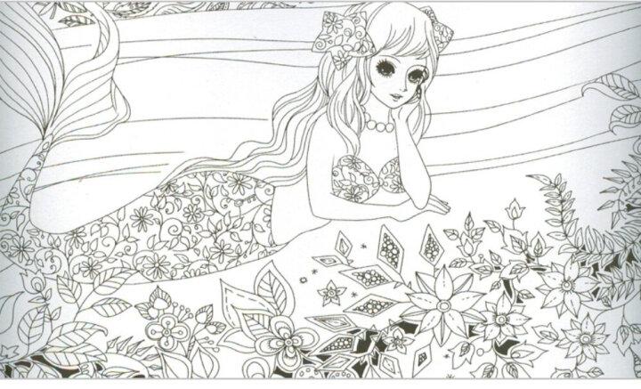 4册 神秘花园 正版 填色书 手绘 涂色书 成人 创意涂鸦填色 秘密花园涂色书 彩铅书  晒单图