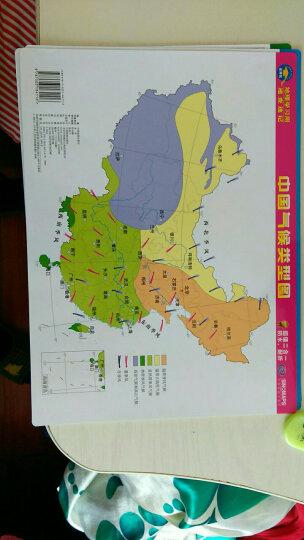 地理学习用系列图 防水耐折超值套装 晒单图
