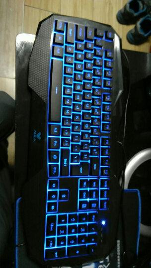 狼蛛(AULA)弑魂八荒套装背光 有线键鼠套装 USB键盘鼠标 黑色版 吃鸡利器 晒单图