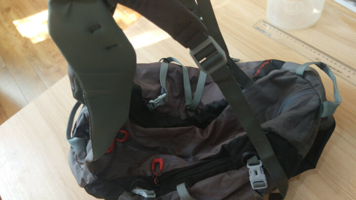 猛犸象(MAMMUT)背包 男女双肩包户外登山包时尚运动旅行包2510-03880 银灰色25升 晒单图