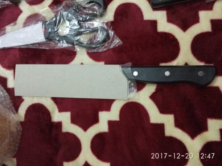 张小泉 古韵不锈钢七件刀具套装 菜刀套装 套刀N5490 晒单图