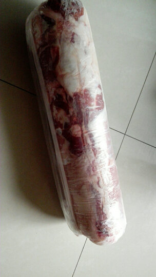 【巴彦淖尔馆】无痕草原内蒙古羊肉羊肉片羔羊肉羊肉卷2.5kg整卷新鲜火锅食材 晒单图