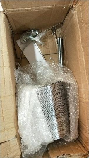 松下新风安装配件浴霸排气扇送风机吊顶安装部材吊杆软管卡箍胶带 直径150mm 晒单图