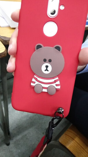 高密码 金立S9手机壳 保护套硅胶软壳可爱时尚情侣潮男女 适用于金立s9/gn9015 可爱熊红色 晒单图