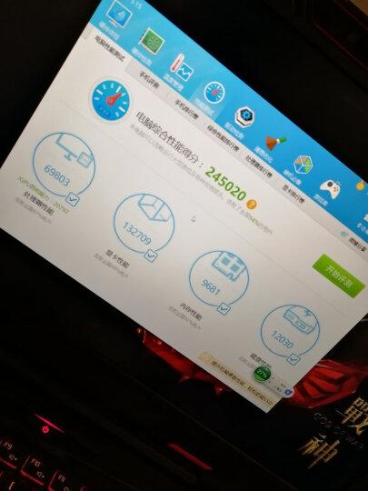 神舟(HASEE)战神Z7-KP7GT GTX1060 6G 15.6英寸游戏本笔记本电脑(i7-7700HQ 8G 1T+128G SSD 1080P)黑色 晒单图
