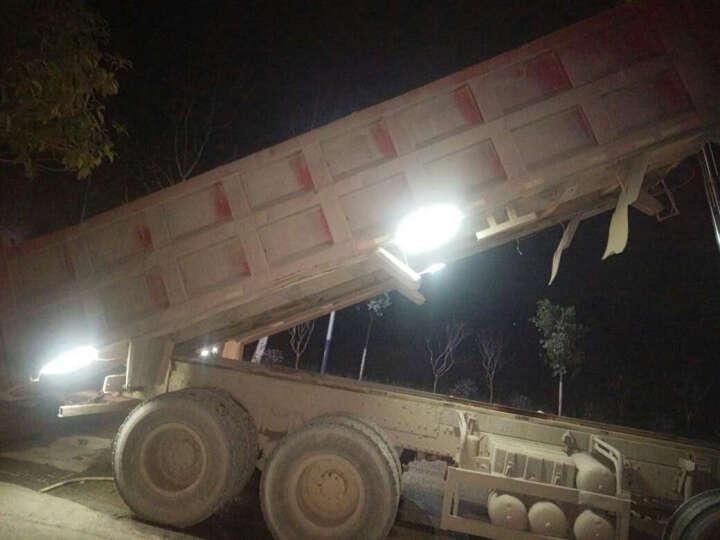 创美思24V货车轮船高亮灯条LED防水灯带货柜车箱重型车泥头车大巴车侧灯改装照明警示软灯条 绿光 1 米 晒单图