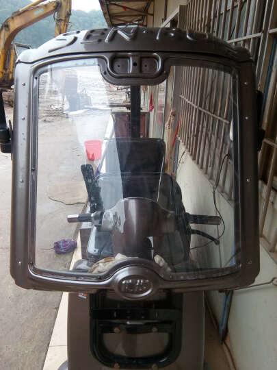 幸运星 电动三轮车雨刮器封闭车雨刷器摩托车无骨手动雨刷12V48V 45CM雨刷一个 晒单图