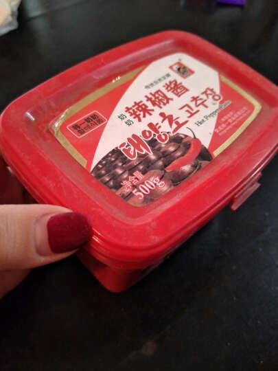 韩一奶奶韩式辣酱500g石锅拌饭酱炒年糕酱韩国料理 晒单图