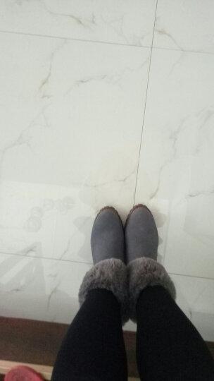 【名品精选】品牌专柜款 手工定制牛皮休闲鞋拼色运动鞋男女款新品400 平底款-棕色 35 晒单图
