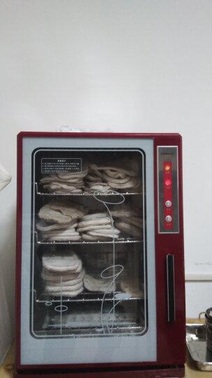 康宝(Canbo)毛巾消毒柜加热保湿48L立式商用酒店美容院浴保洁柜蒸汽杀菌MPR60A-1 深红色 晒单图